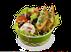 Салат с фетой и сладким перцем