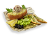 Картофель Премиум с тунцом и фасоль